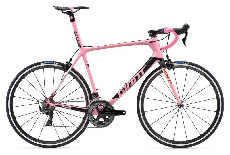 Giant TCR Advanced SL Maglia Rosa (2018)
